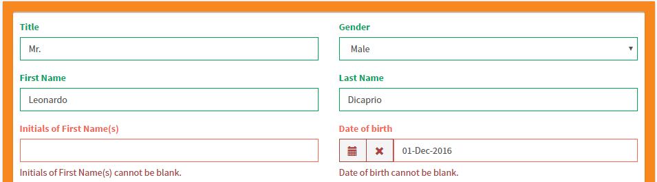 Hướng dẫn chi tiết cách điền first name trong bảng thông tin cá nhân