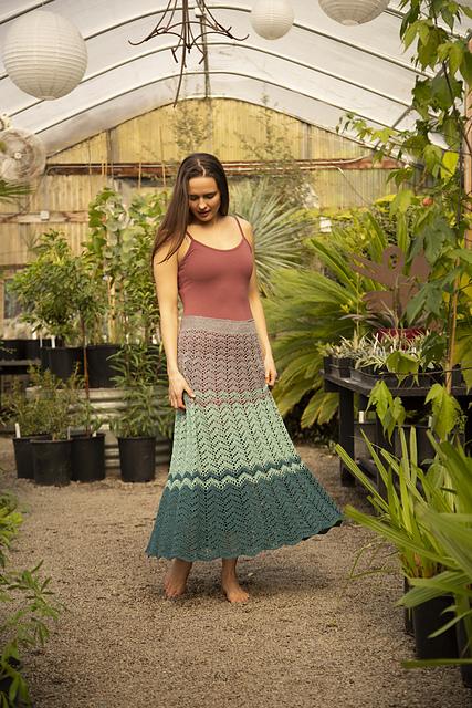 Eventide Skirt Crochet Pattern