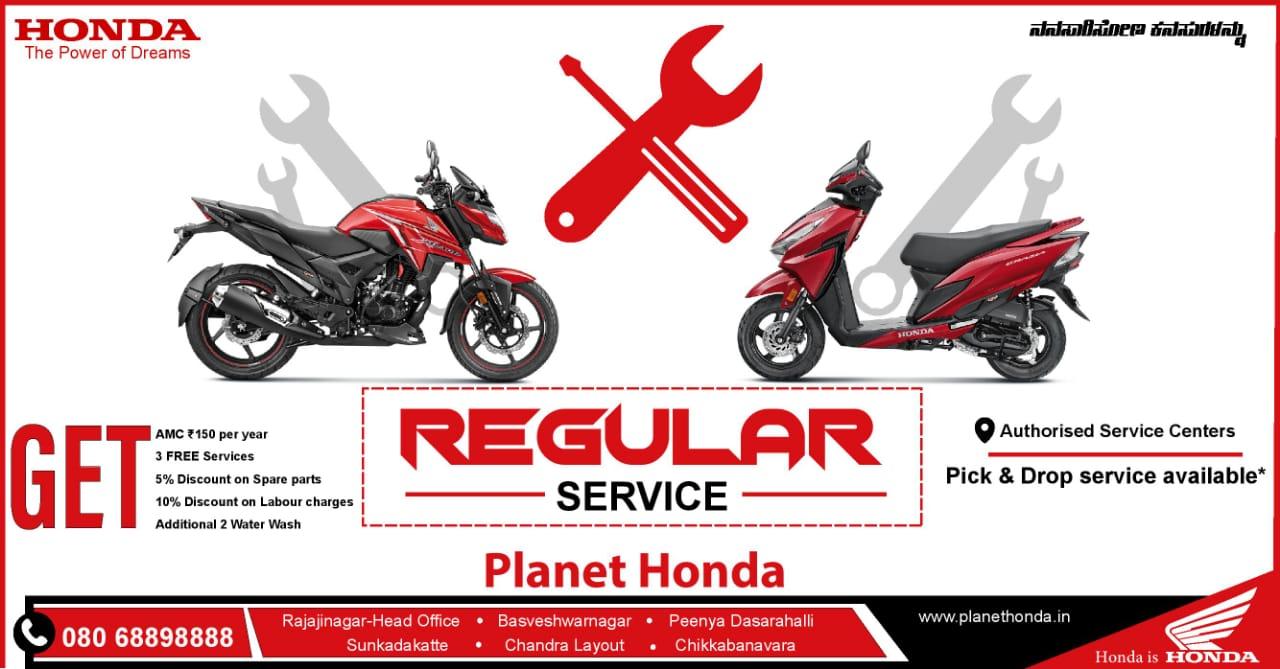 Regular service