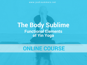 An online course offered by the Summers School of Yin Yoga
