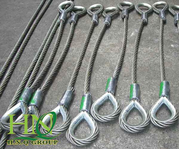 Chiều dài sling cáp thép là yếu tố quan trọng