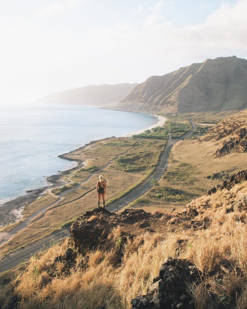 Hike makua cave for sunset (#6 on 26 best things to do on Oahu)