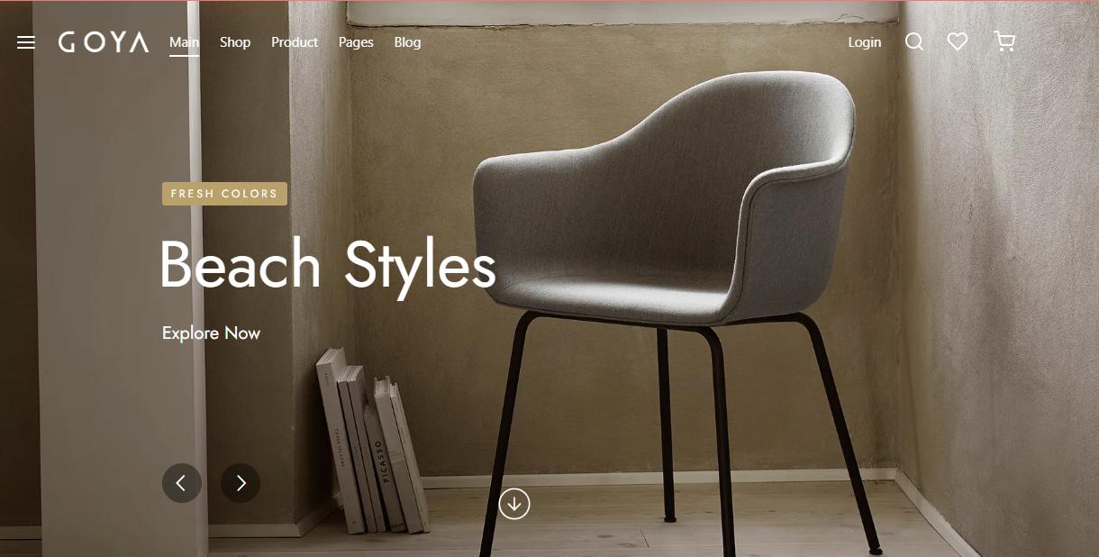 Goya - Woocommerce furniture themes