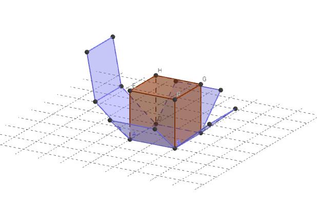 Net of a cube