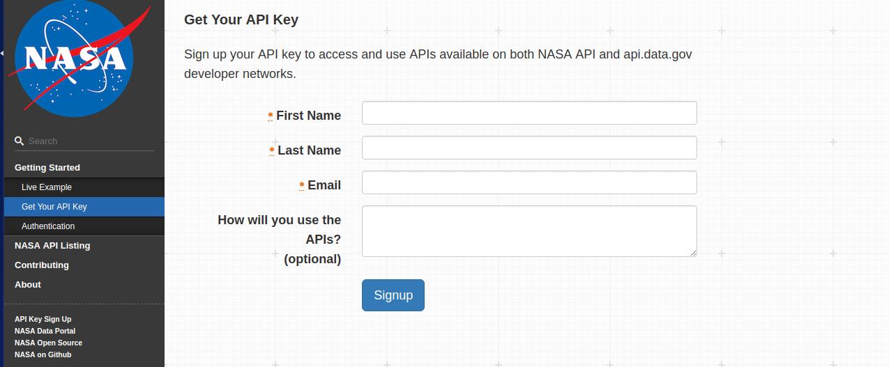 Playing Around: NASA API! | The DIY Coder