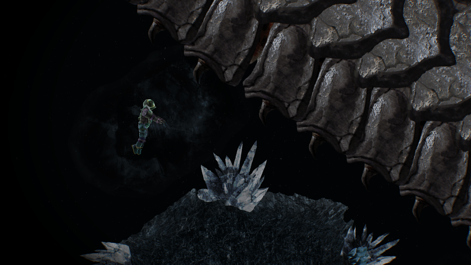 Barotrauma abyss monster and minerals