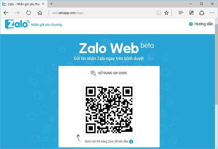 Zalo web và cách đăng nhập Zalo web