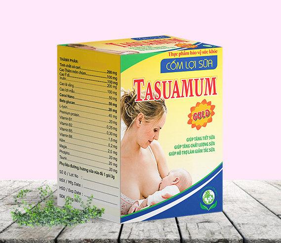 Tasuamum giúp tăng tiết sữa