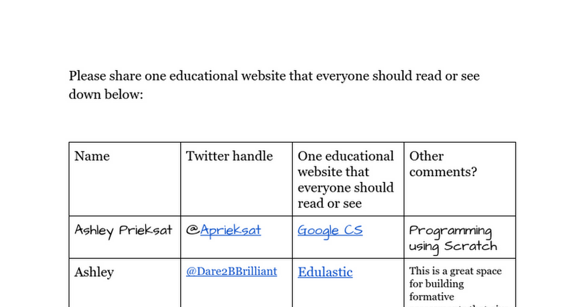One educational website that everyone should read or see #iteciagc