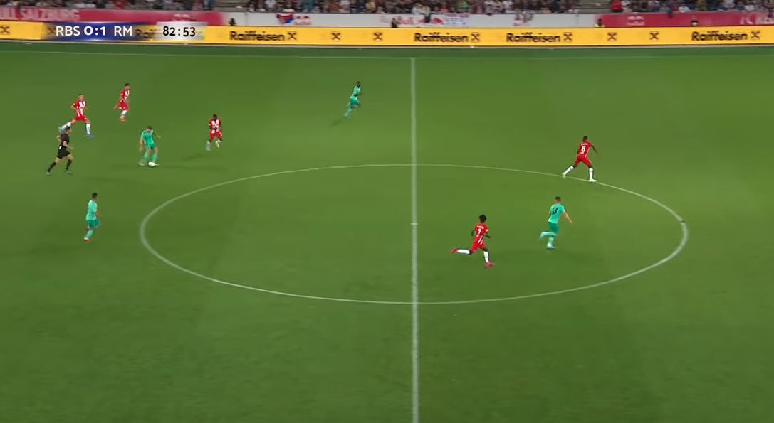 Real match example of the offside rule in-game. 3 (Why Offsides in Soccer?)