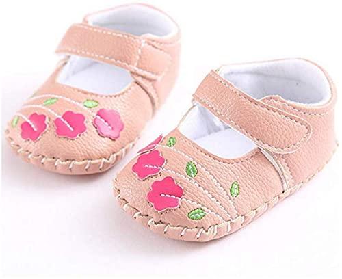 Meckior Infant Baby Girls Summer Soft Leather No-Slip Princess Shoe