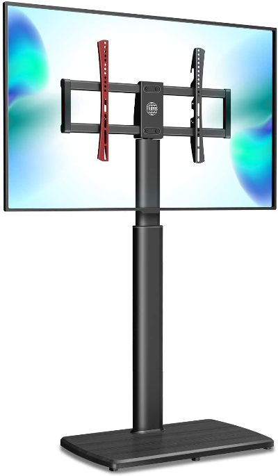 FITUEYES swivel floor TV stand