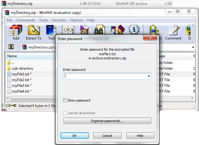 JavaMadeSoEasy com (JMSE): How to create password protected