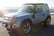 Land Rover Dc100 Front Three Quarter