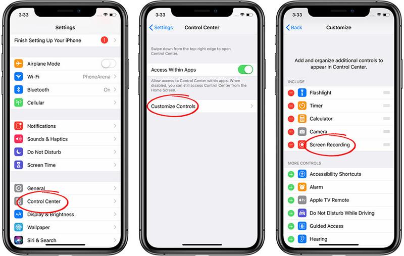 cach-quay-man-hinh-iphone Hướng dẫn cách quay màn hình iPhone và iPad cực đơn giản mà ai cũng làm được