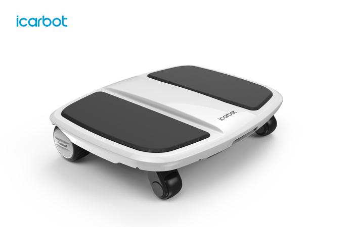 F-Wheel launches their newest patented 4 wheel hoverboard- the iCarbot
