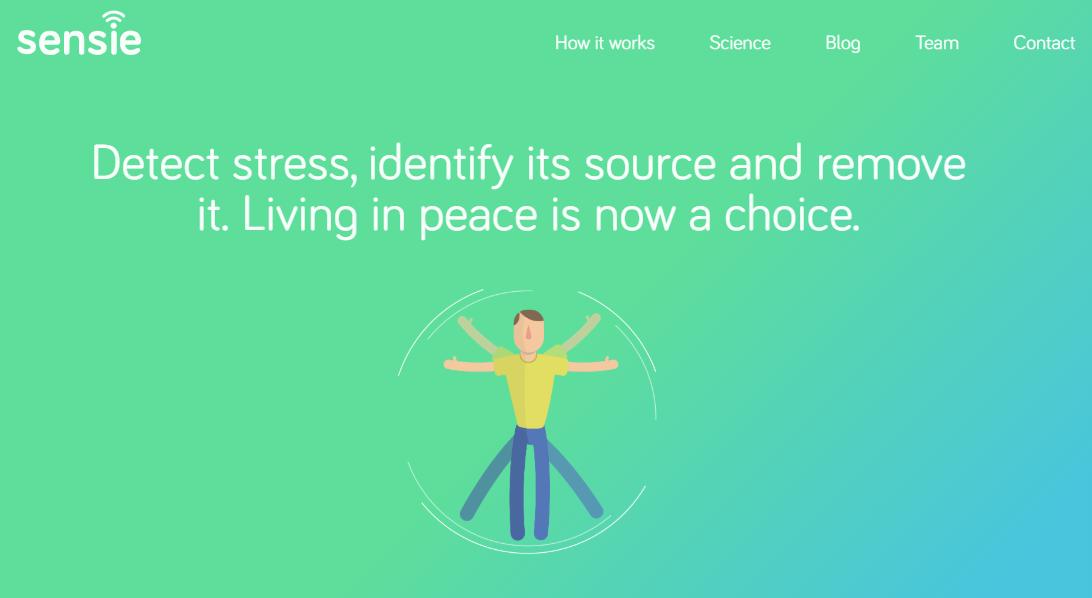 Sensie's website