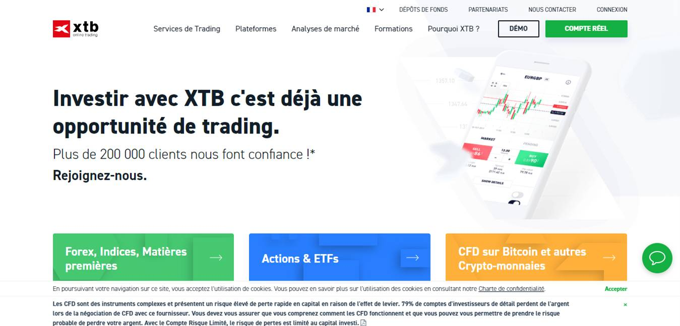 XTB interface