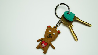 home bear toy keychain happy keys teddy fashion accessory fob