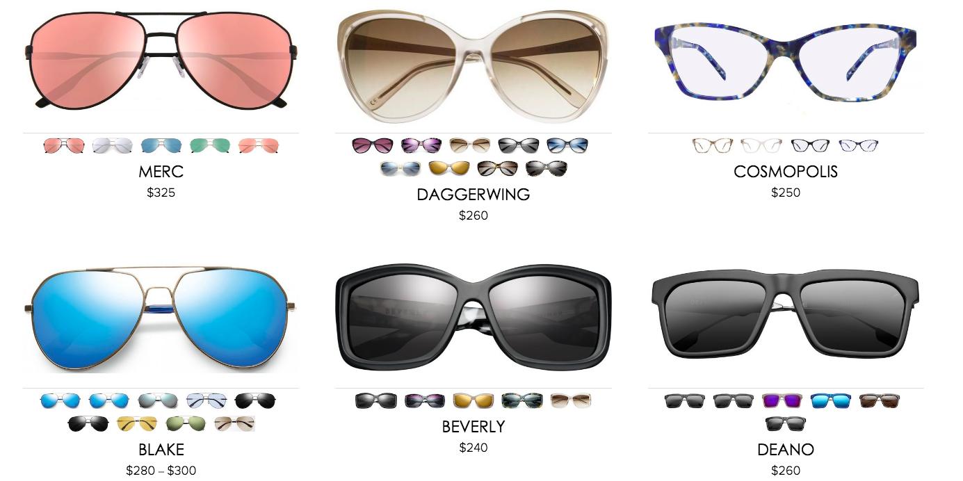 IVI Vision sunglasses frames