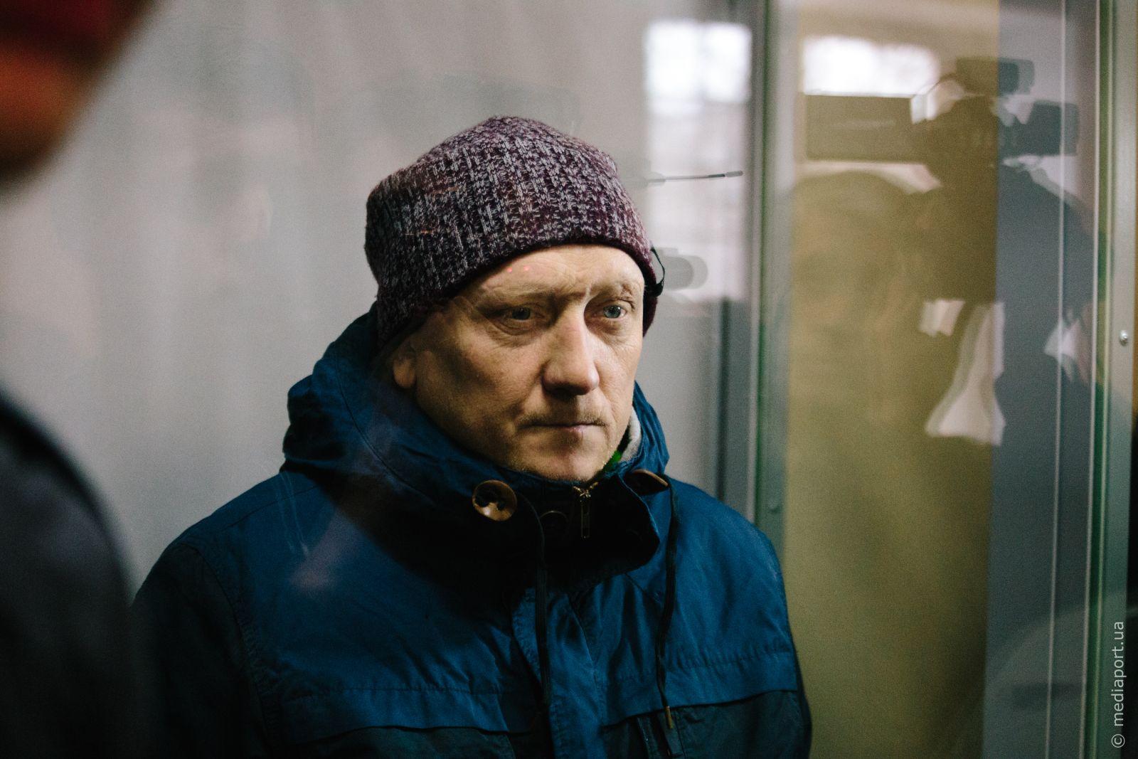 Обвинувачені відмовилися спілкуватися з кореспондентом «МедіаПорту». На фото Володимир Дворніков