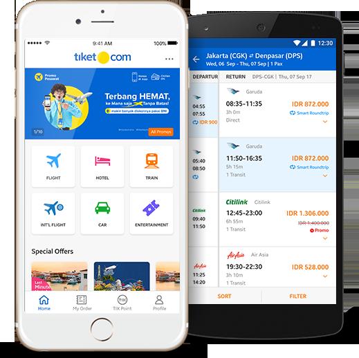tiket.com app