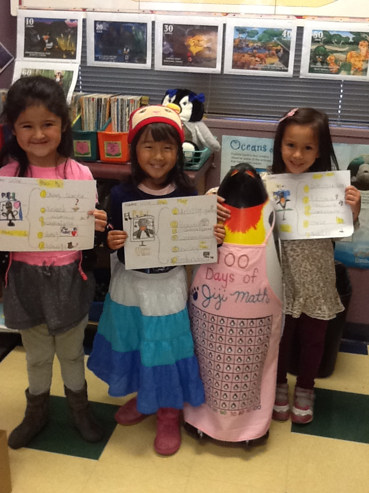 kindergarten students create storyboards