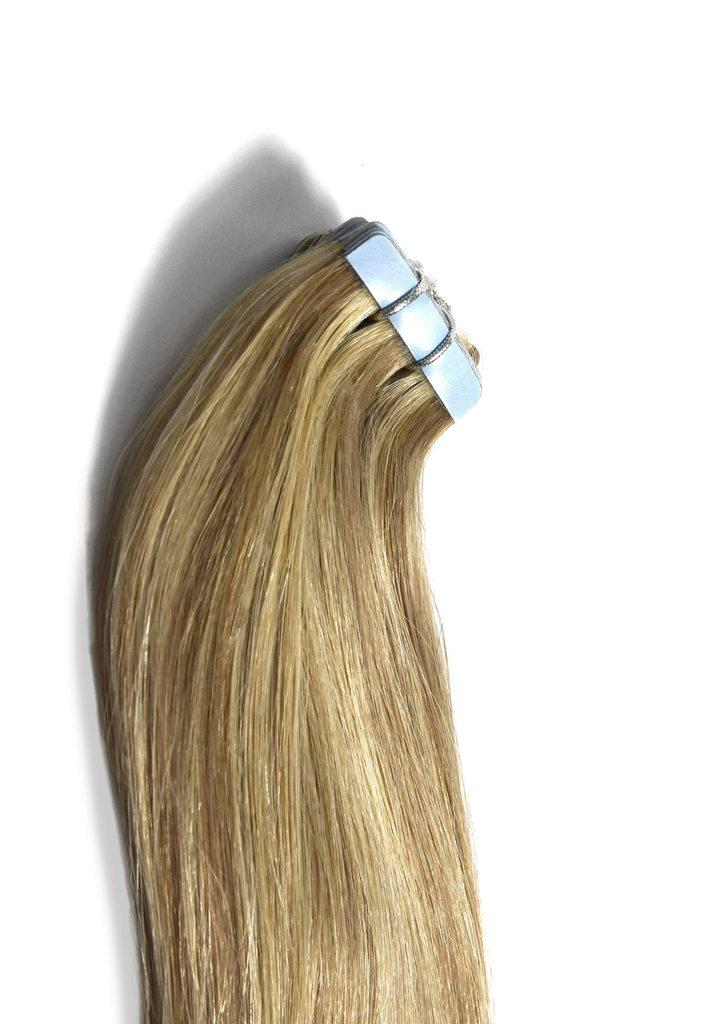 tape-in-hair-extensions-ash-blonde-highlights