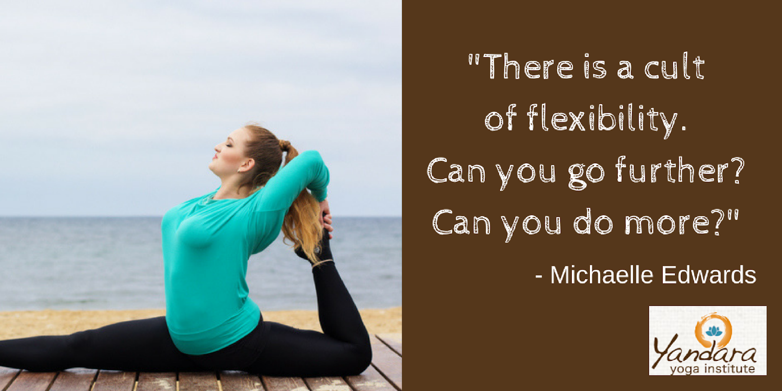 The cult of flexibility.