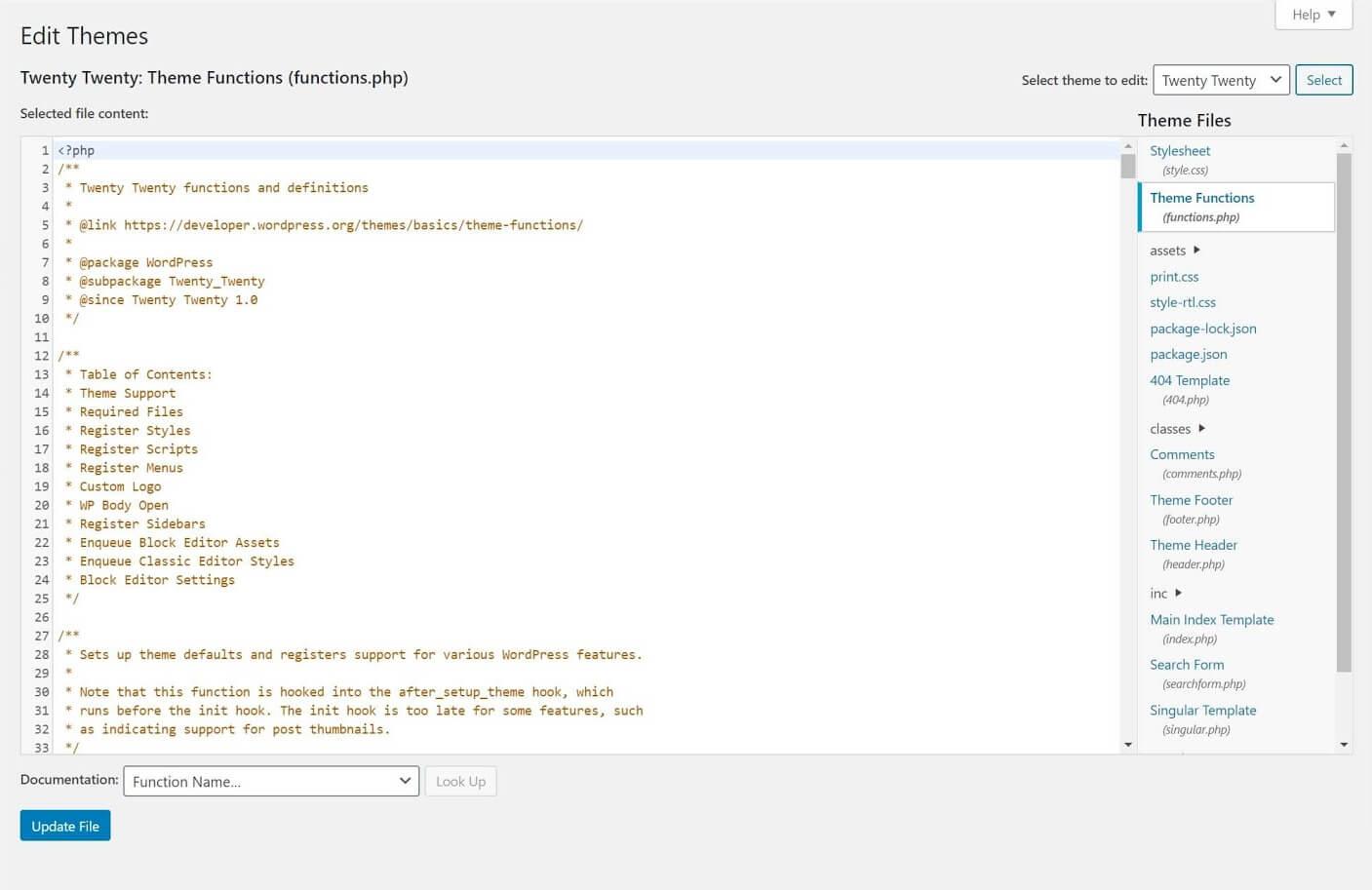 create shortcode edit themes