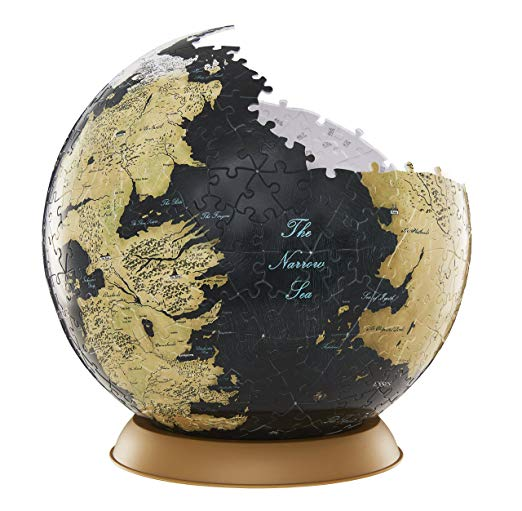 4D Cityscape 30004 Game of Thrones/the Unknown World 3D Globe Puzzle