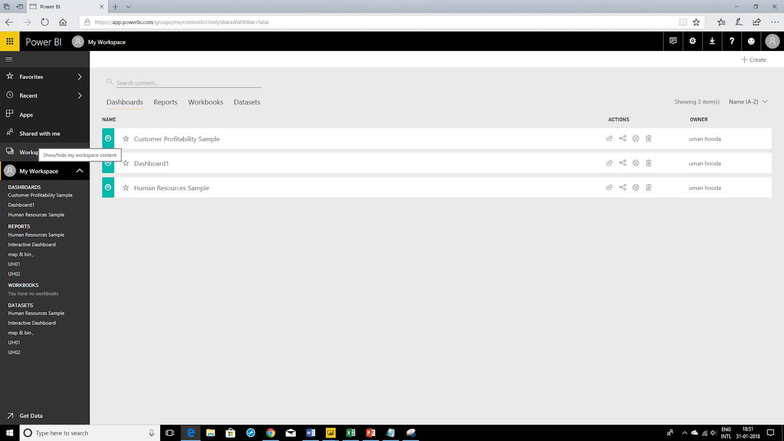 Interactive Dashboard In Microsoft Power BI 71
