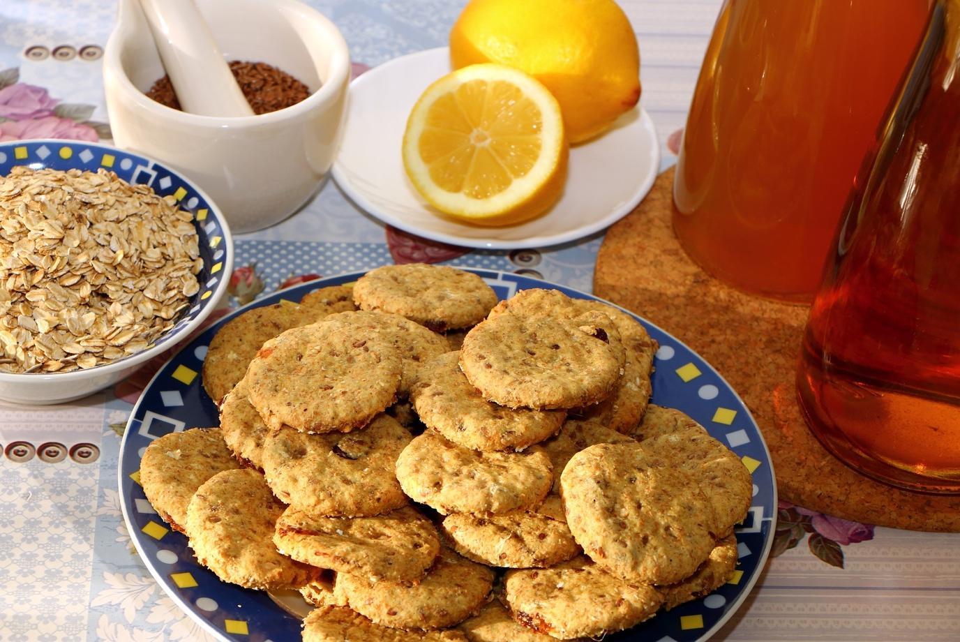 imagem de biscoitos de aveia