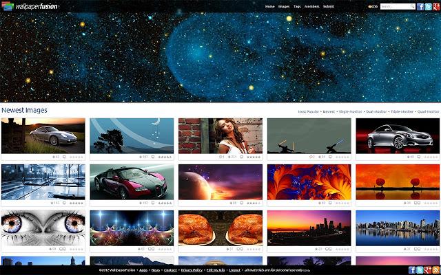 Wallpaperfusion chrome web store - Chrome web store wallpaper ...
