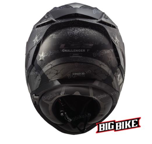 Mũ bảo hiểm LS2 FF327 Challenger Flex Black