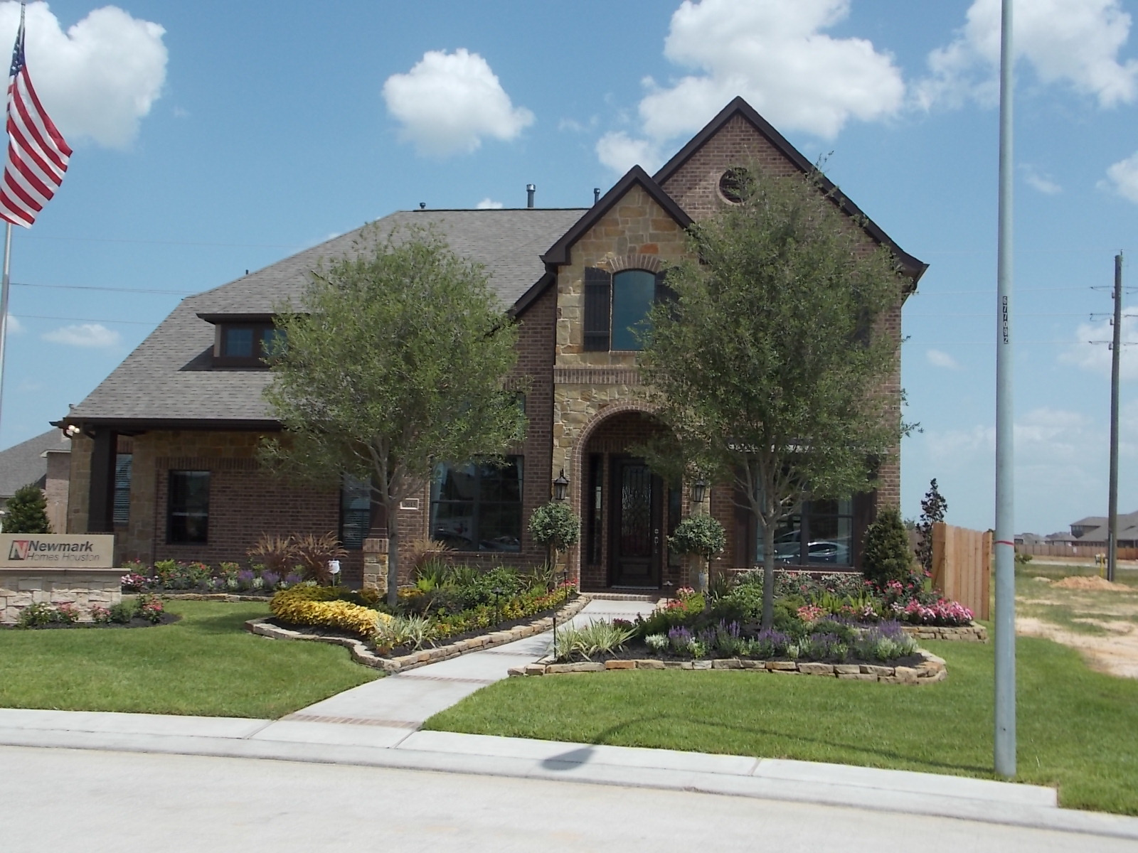 Model Home in Pine Mill Ranch
