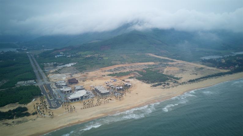 tiến độ dự án 6 miles coast resort lăng cô