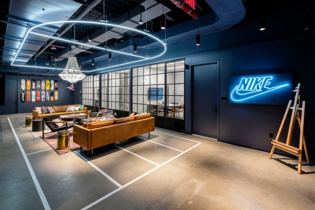 Nike casual company culture