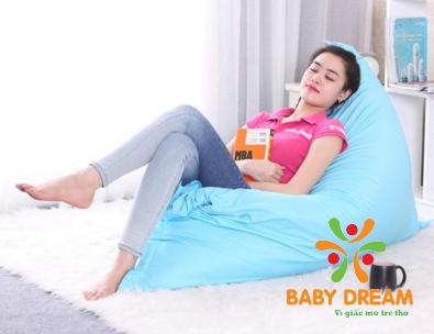 Hạt xốp làm gối lười hà nội mang lại giấc ngủ an nhiên và thoải mái nhất
