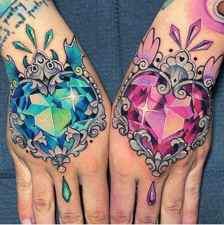 Hand(s) Filigree Tattoo