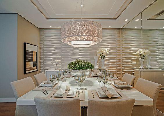 sala de jantar apartamento alto padrão decoração