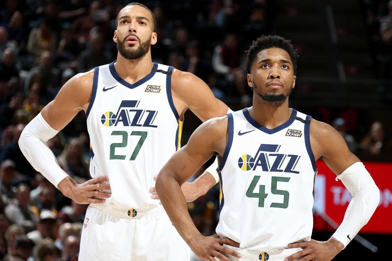 WATCH: Utah Jazz Stars Donovan Mitchell and Rudy Gobert Lash Out at Chairs  During Game 6 Loss - EssentiallySports