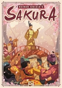 The boxart for Sakura, where artists are all trying to paint the emperor's portrait.