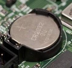 Motherboard battery motherboard