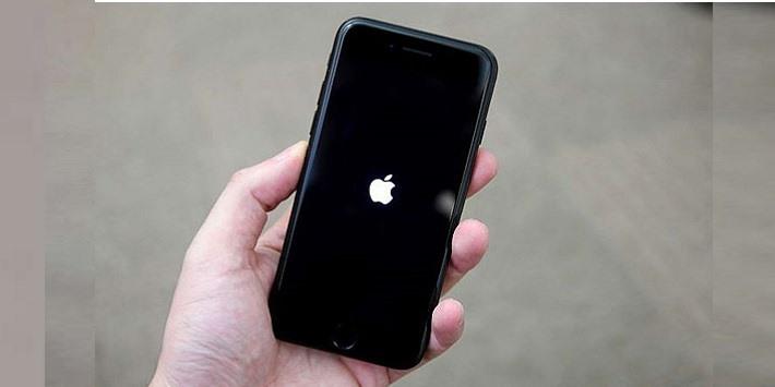 Sửa iPhone 7, 7 Plus treo táo, treo cáp đĩa itunes