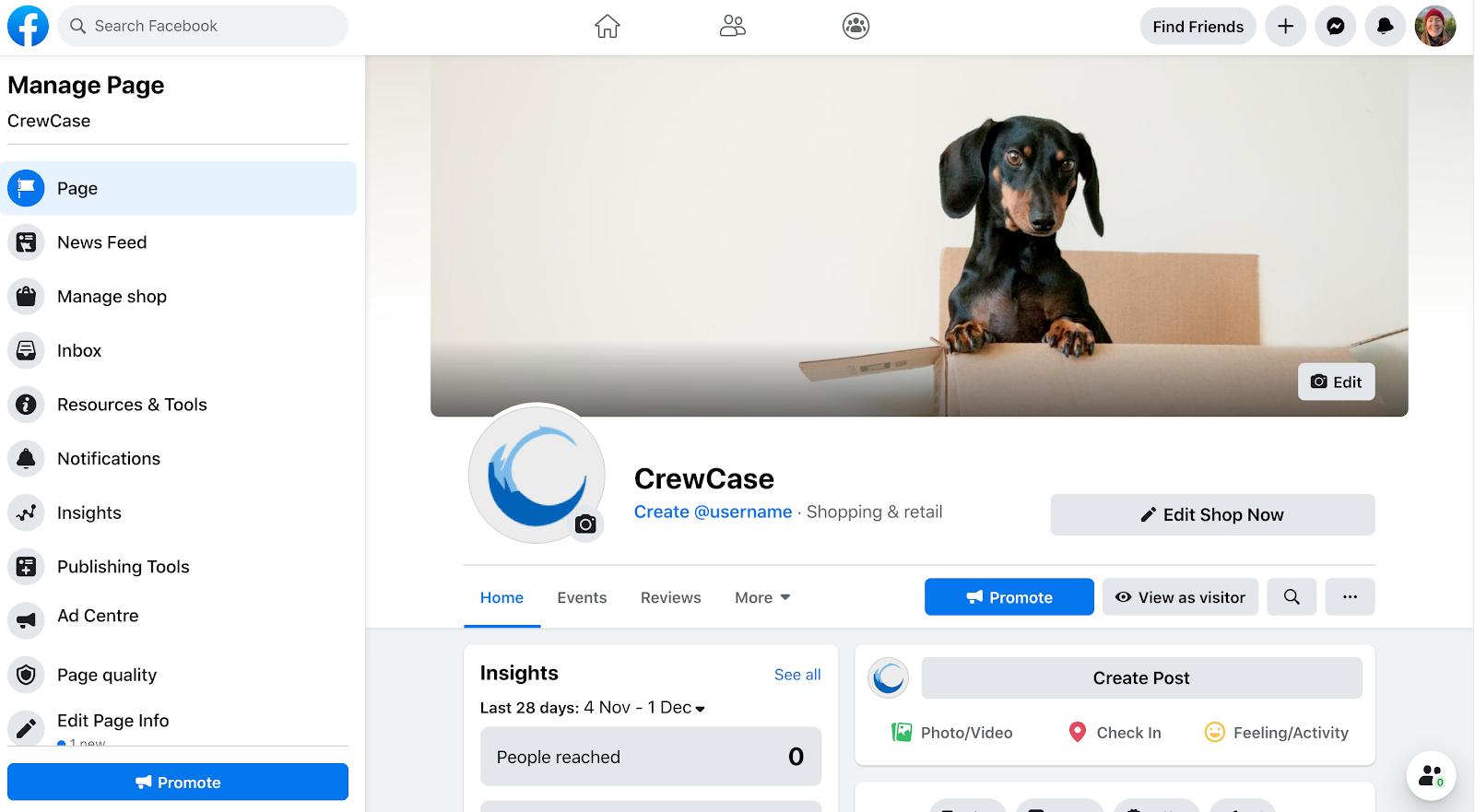 CrewCase Facebook Page