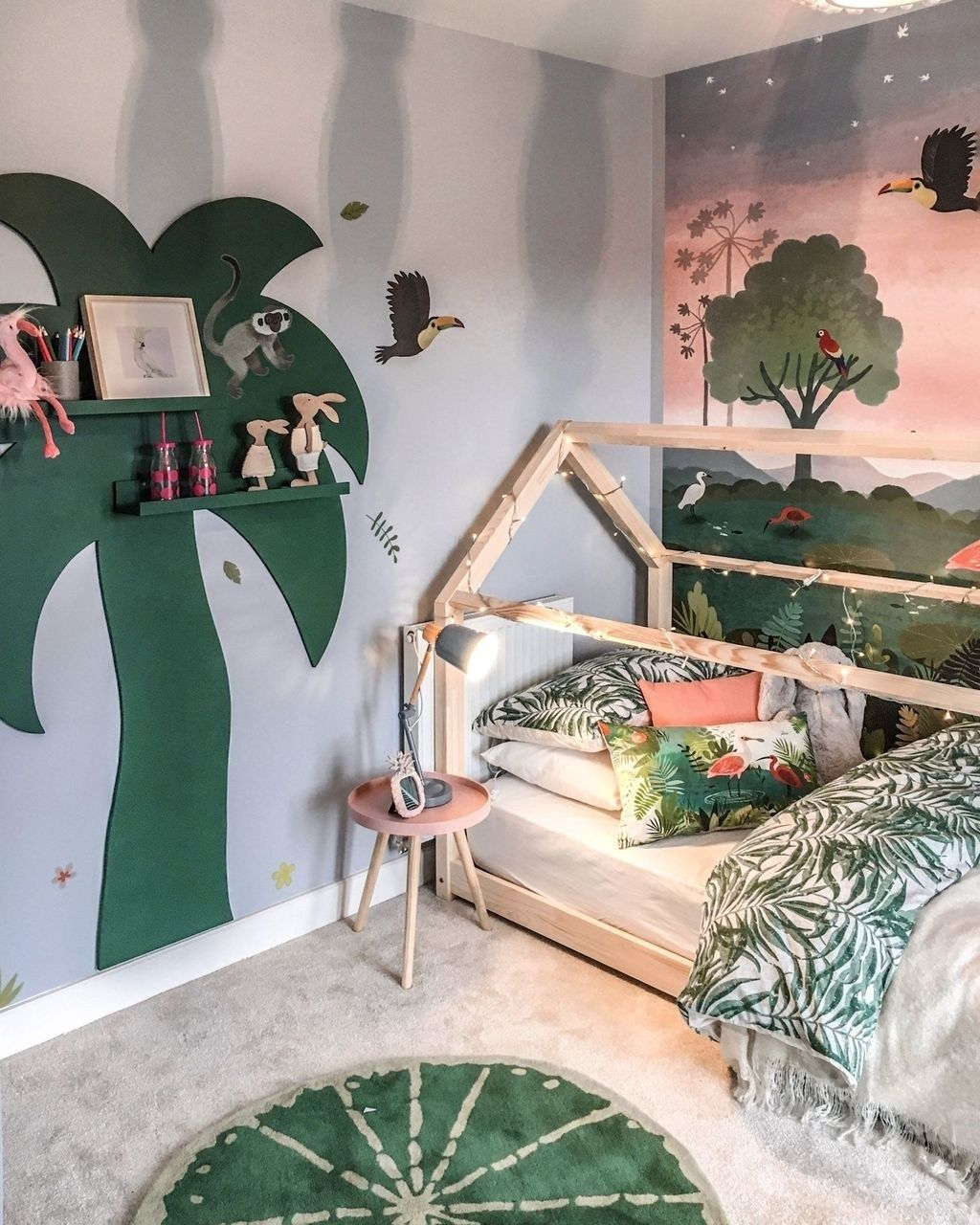 Turn Your Child's Room Into a Tropical Jungle