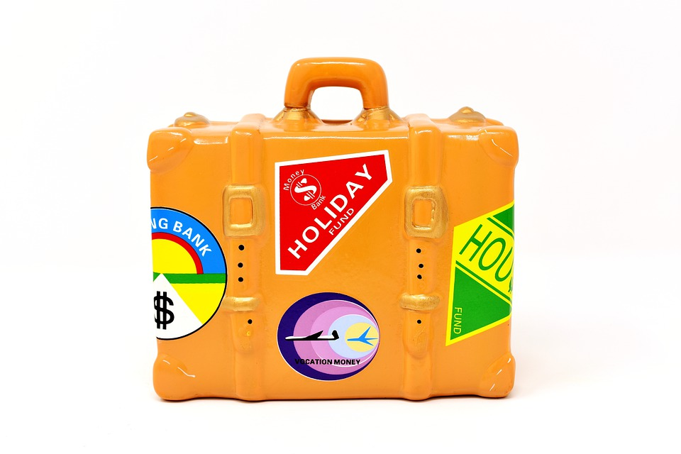 Luggage, Travel, Holiday, Go Away, Travel Fund