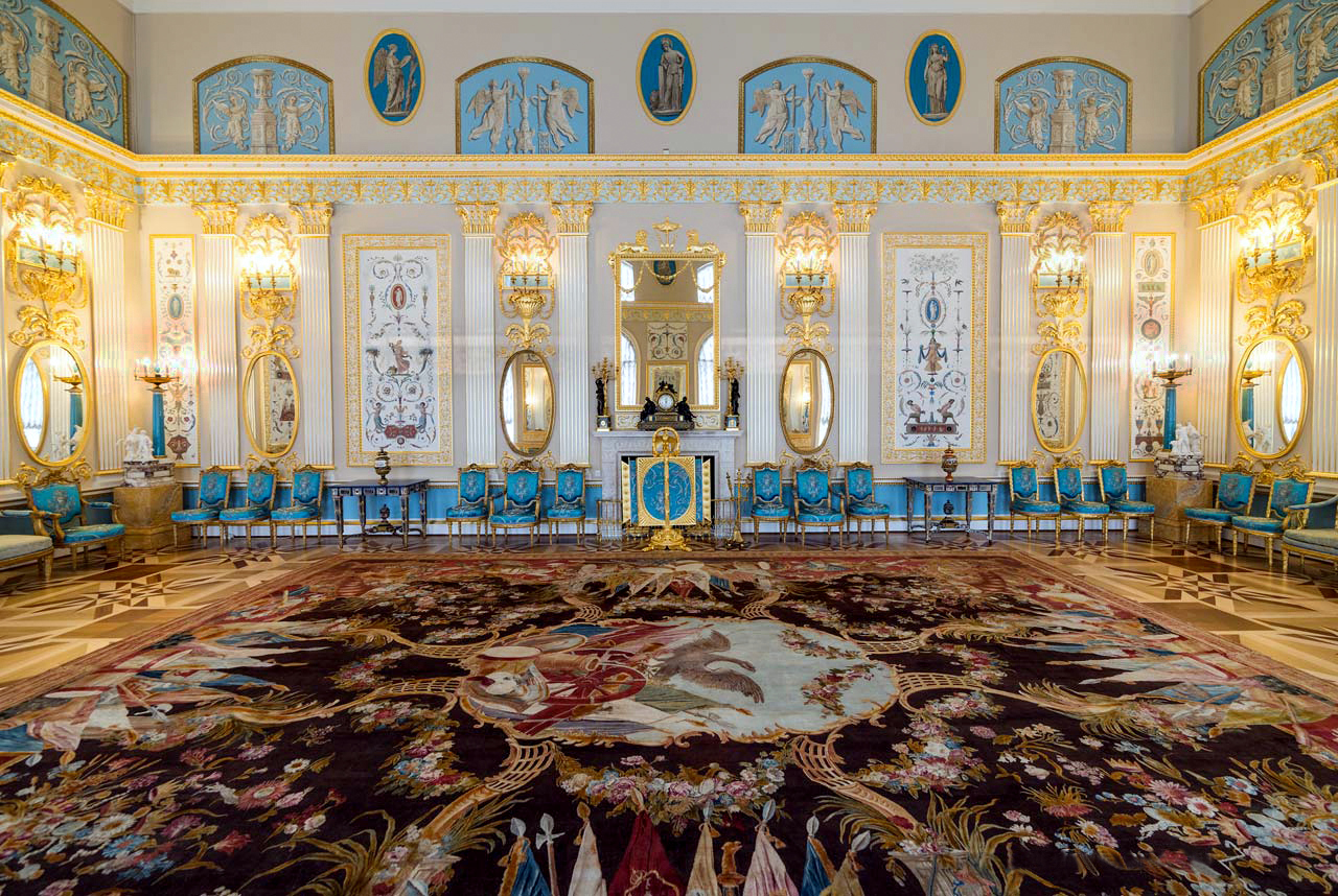 Царское Село Екатерининский дворец Арабесковый зал
