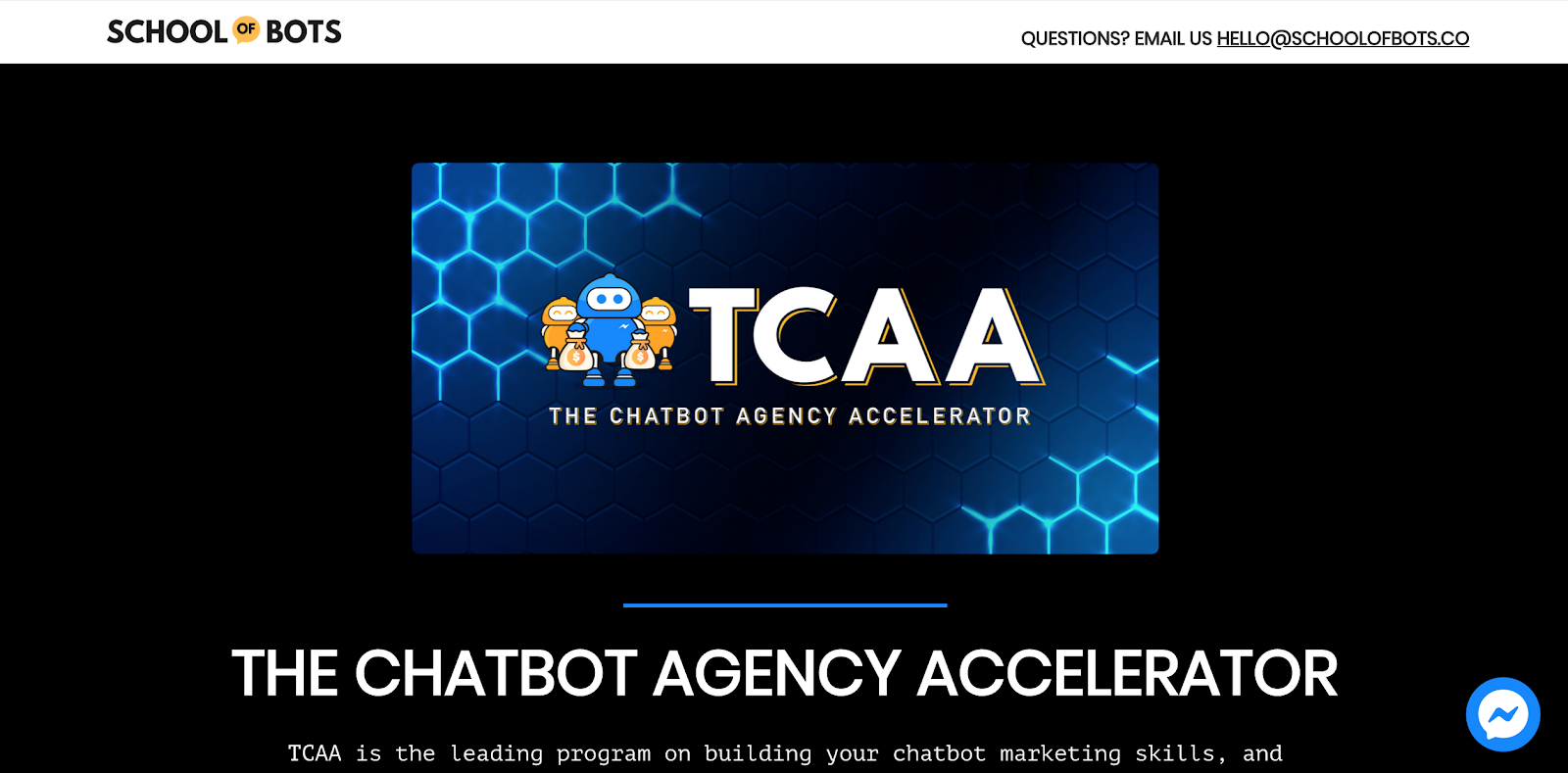 The Chatbot Agency Accelerator Course